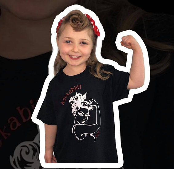 Children's Rockabilly Girl