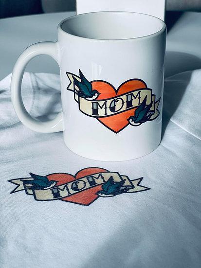 Tradition Mom Tattoo Mug