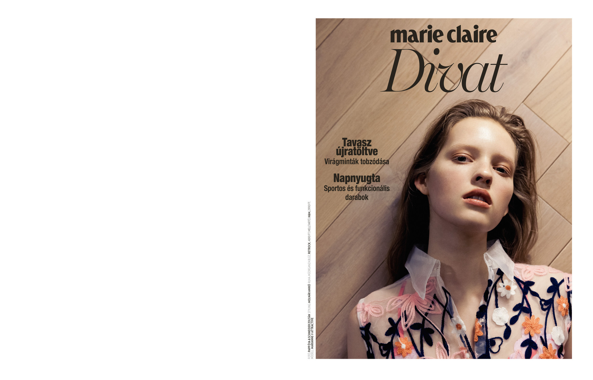 Marie Claire Hungary 03.2018