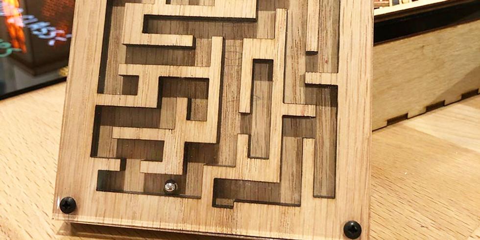 Family Making Sunday - CNC Maze Game FM03