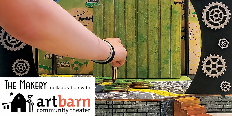 Create a Scene - Stage and Set Design: TUESDAYS - YWP-CAS