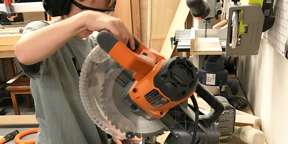 Building and Woodworking: WEDNESDAYS YWP-CON