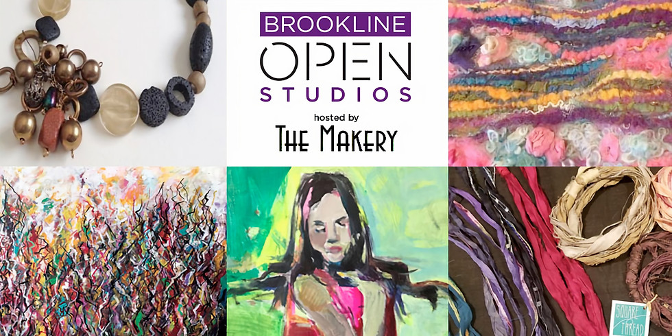 Brookline Open Studios - All Weekend