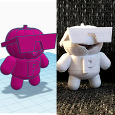 3D Printed Characters