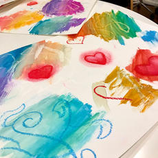 Watercolor Resist