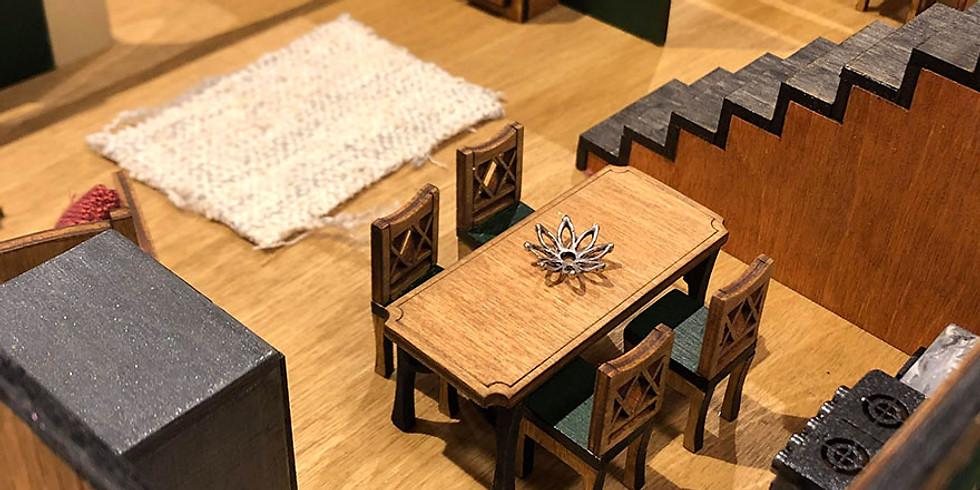 Family Making Sunday - Miniature Room Interiors FM04