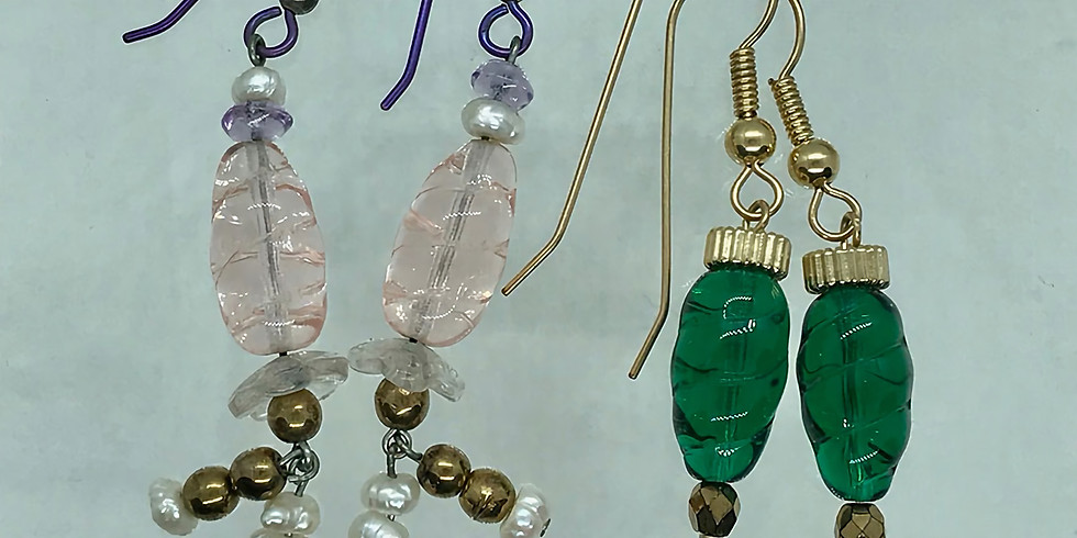 Jewelry Making - Design, Build, Construct Earrings with Madeline Fine AFP035