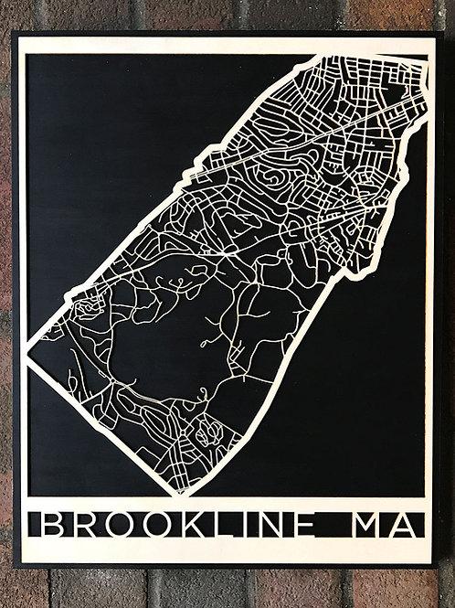 Brookline Map
