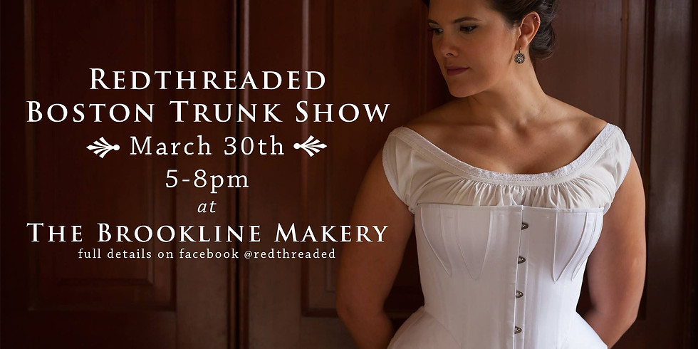 Redthreaded Boston Trunk Show