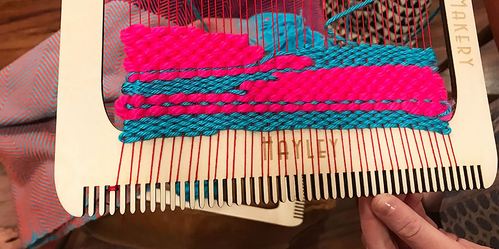 Tapestry Weaving with Looms AFP0