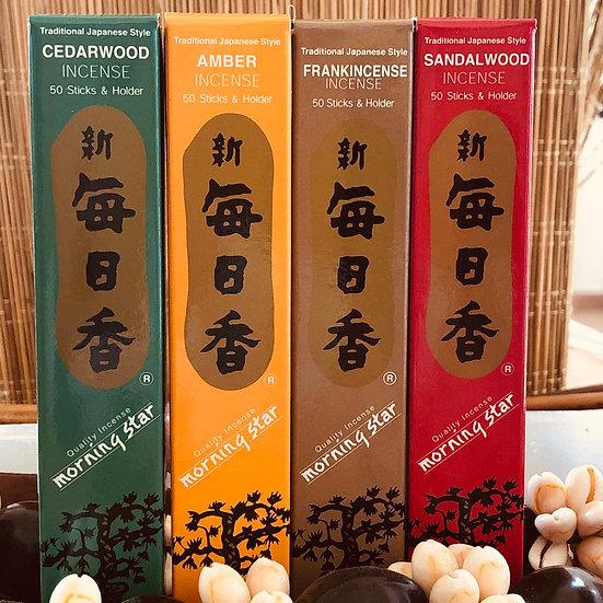 קטורת יפנית עבודת יד במגוון ריחות