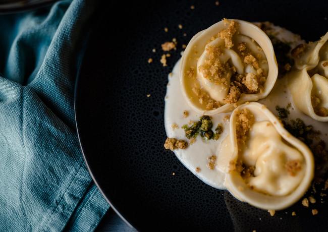 scallop tortellini
