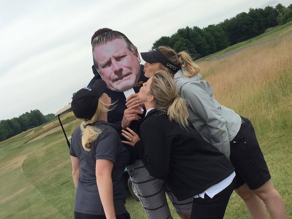 PRGolf2016 - Fun with Paul Cut-outs