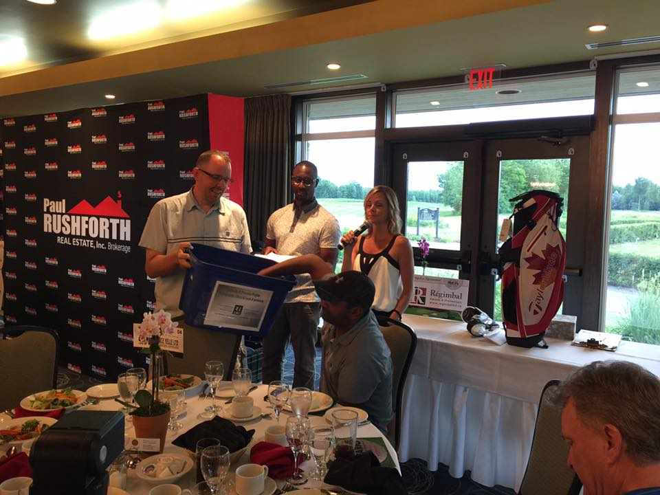 PRGolf2016 - WestJet compitition winner