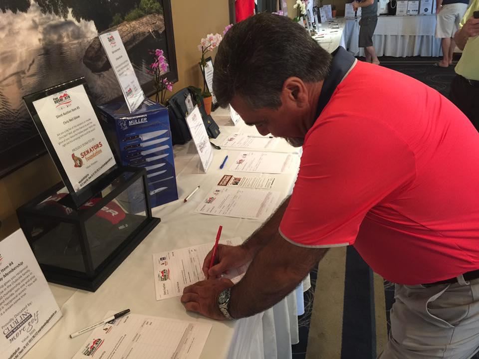 PRGolf2016 - Silent Auction bidding