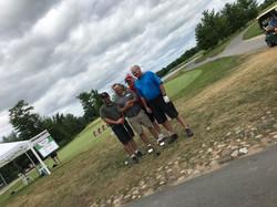 PRGolf2018 025 Team - Dave, Dan, Steve &