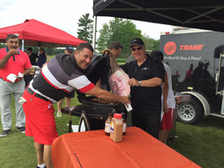 PRGolf2016 - Fun with Paul Cut-out - BBQ