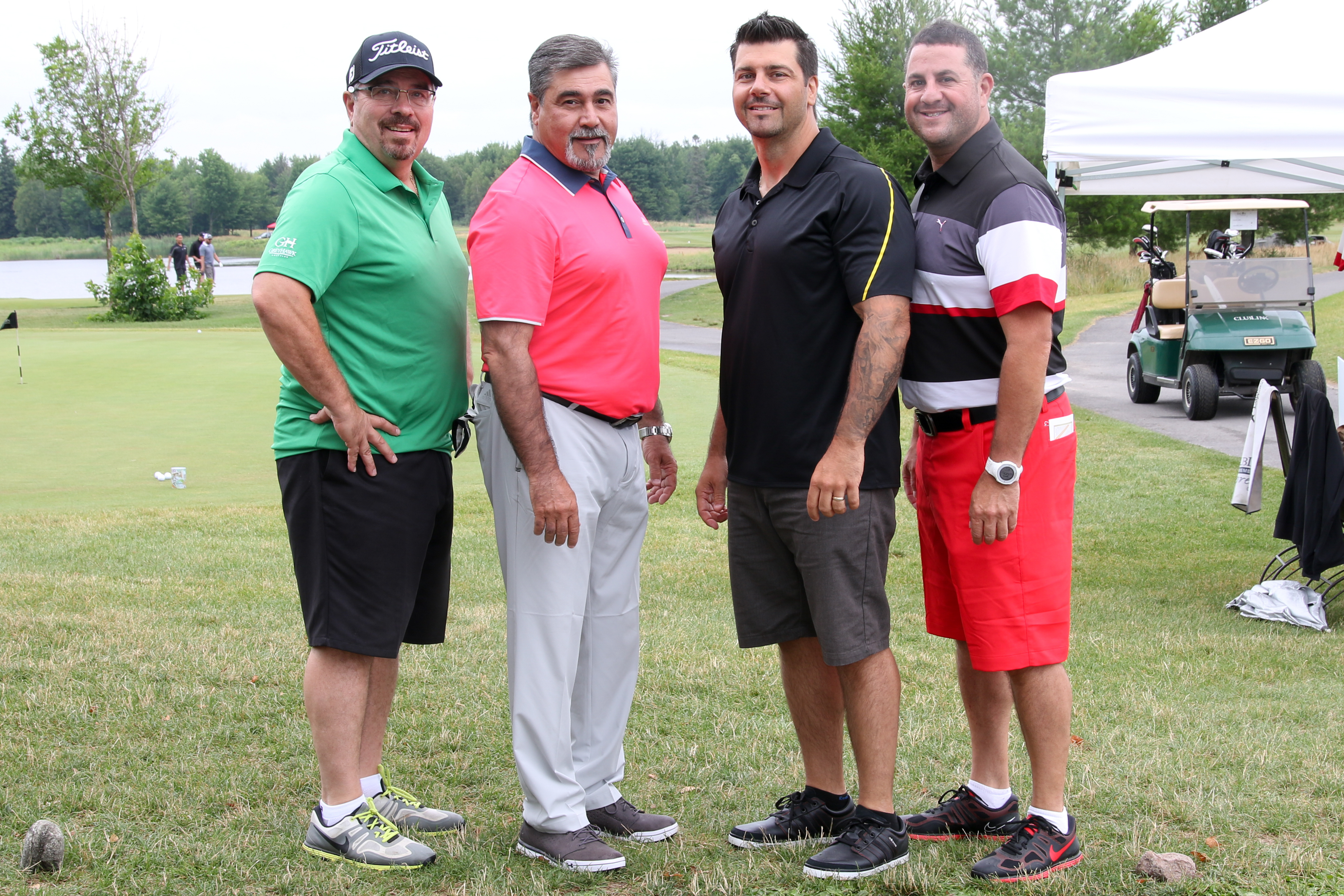 PRGolf2016 - Barwood Flooring Team