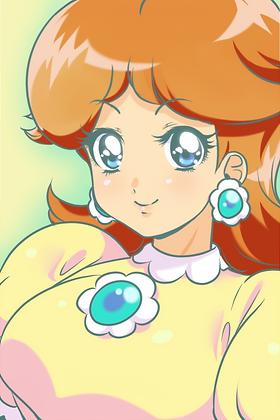 Princess Daisy Print