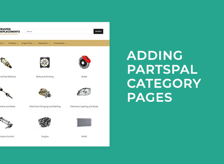 Adding PartsPal Category Pages to Shopify Tutorial