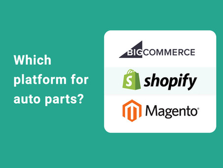 Which e-commerce platform is best for selling auto parts online.