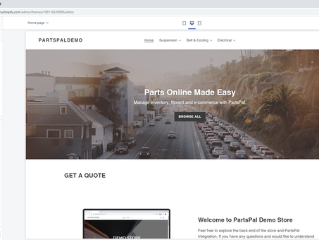 How to install PartsPal Get Quote Form on Shopify