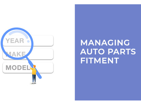 Managing Auto Parts Fitment on PartsPal