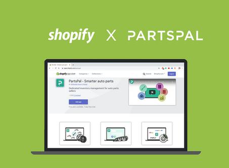 Shopify Integration   PartsPal Inventory Management