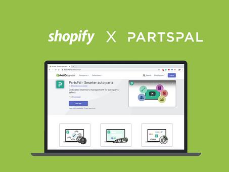 Shopify Integration | PartsPal Inventory Management