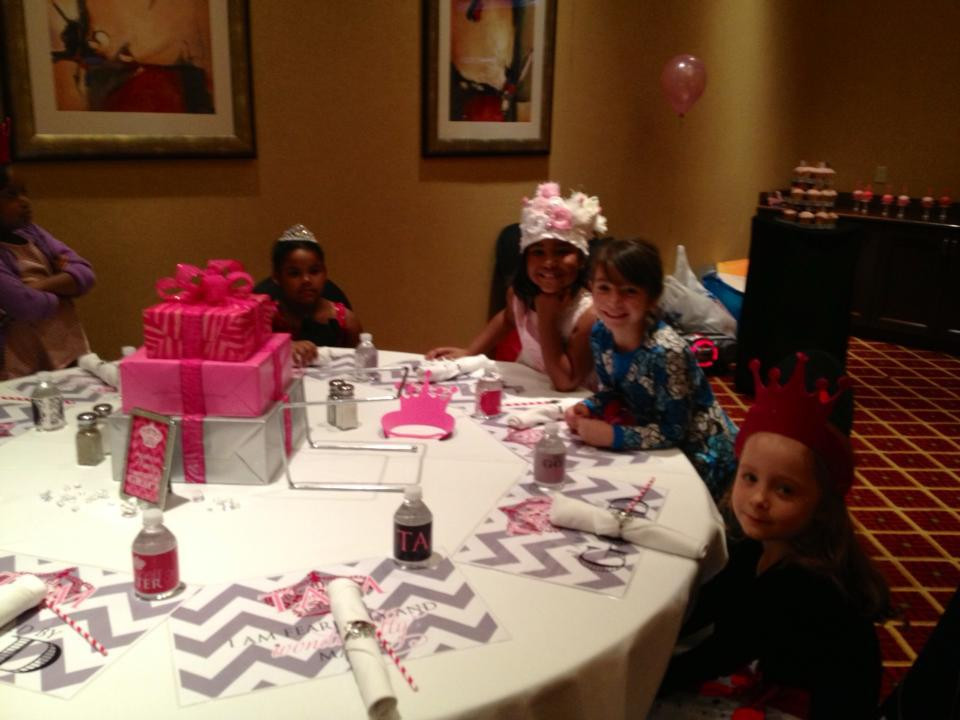 Princess Chevron Party