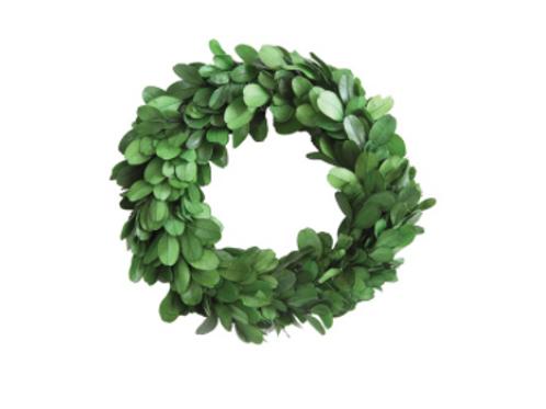 boxwood wreath, 2 sizes