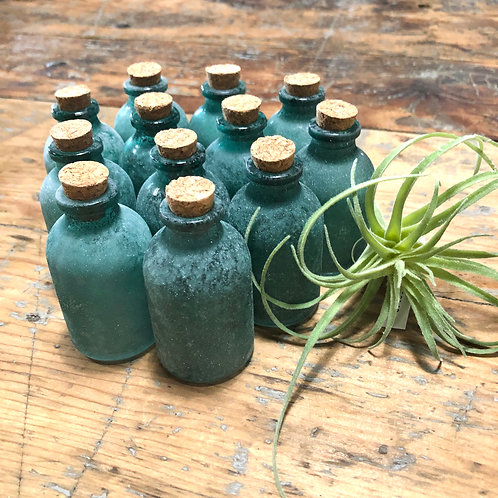 mini aqua bottle w/cork