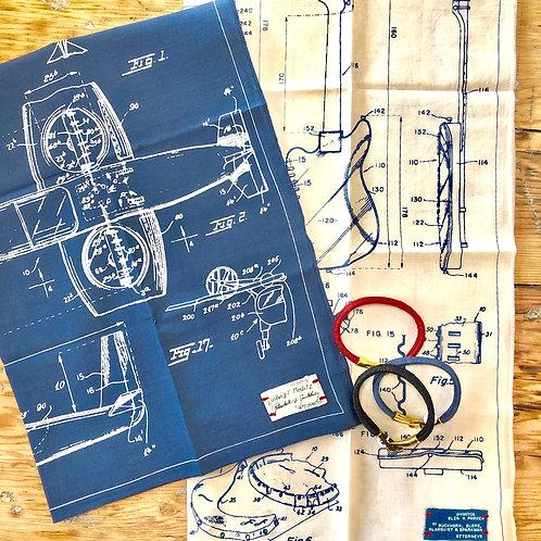 blueprint bandana