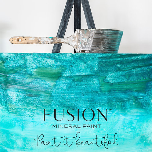 Fusion™ mineral paint: blue greens