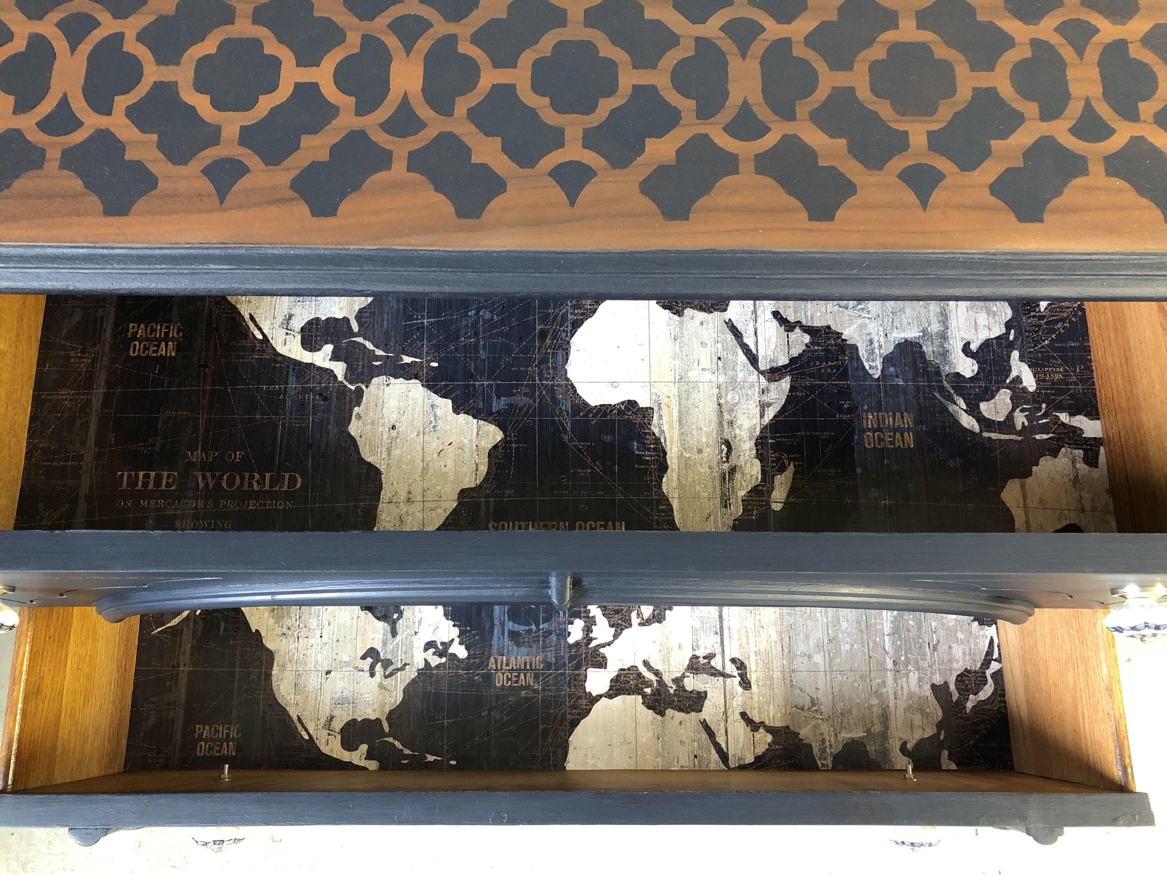 sideboard details