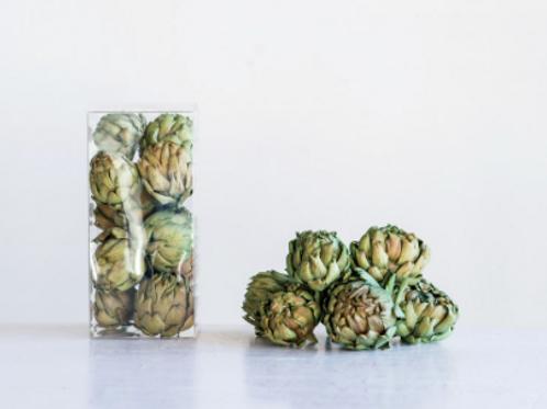 natural dried artichoke set
