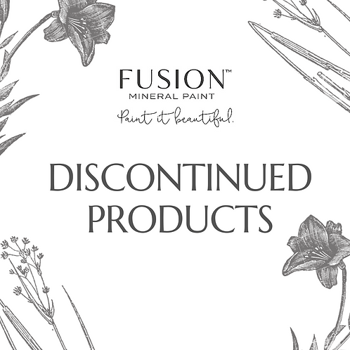 Fusion™ mineral paint: discontinued colors