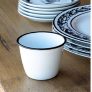 enamelware small pot