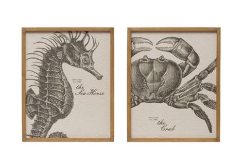 sea life wall art, 2 styles