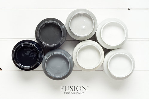 Fusion™ mineral paint: greys
