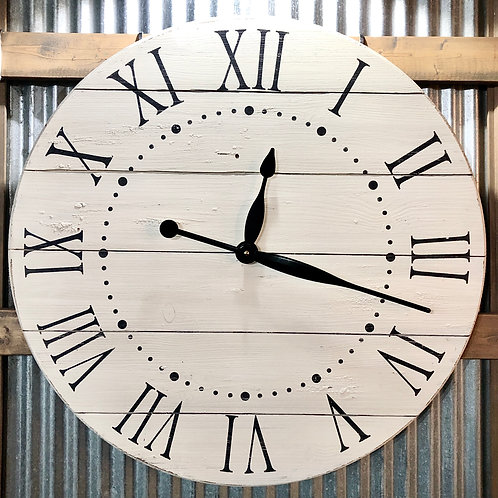 24 inch oversized wall clock