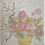 Thumbnail: decorator paper: flowers in vase, 2 styles