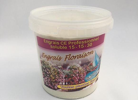Engrais floraison soluble - 15 - 15 - 30