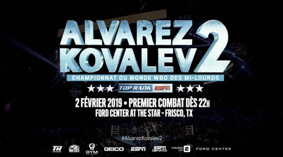 Alvarez VS Kovalev 2