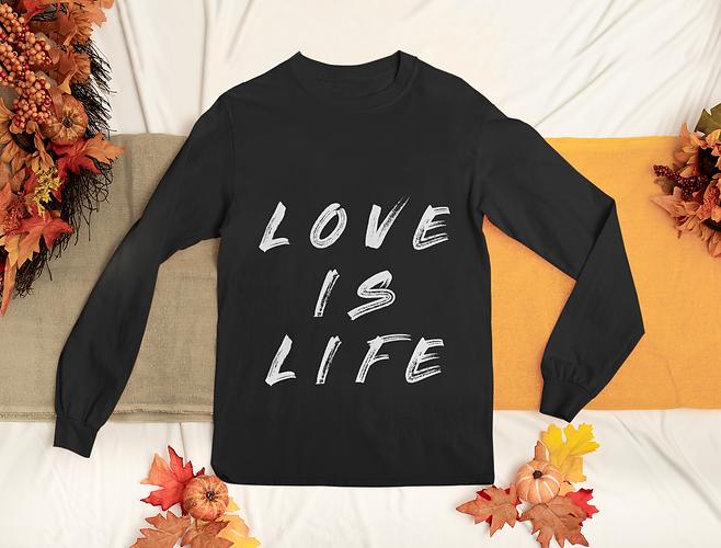 long-sleeve-tee-mockup-featuring-autumn-