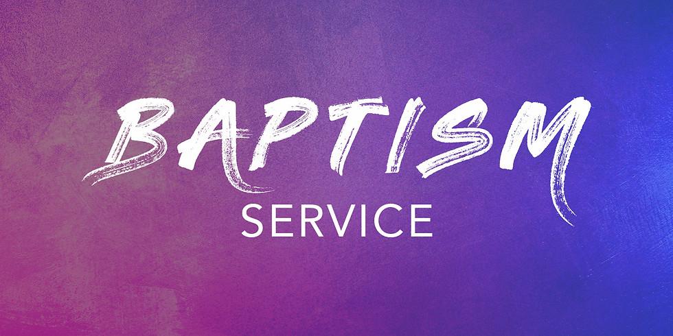 Baptism's & BBQ Service