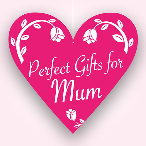 mothers day pink sign, gifts, hanging mobile
