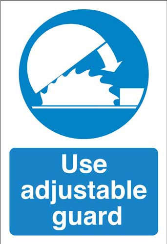 use adjustable guards, health and safety