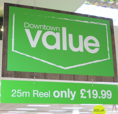 Retail Point of Sale Signage