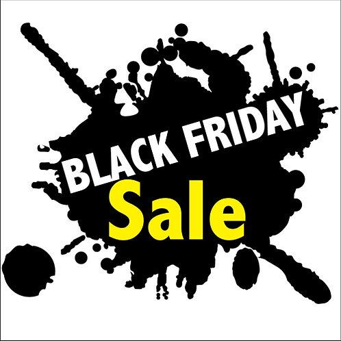 Black Friday Window Stickers Sale